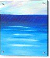 Sapphire Horizon Acrylic Print