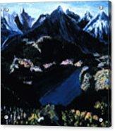 Sapphire Lake   Acrylic Print