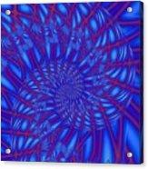 Sapphire Swirl Acrylic Print
