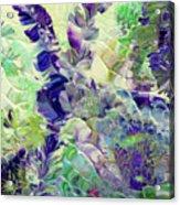 Sapphire Violet Acrylic Print