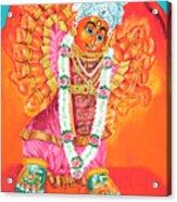 Saptashrungi Devi Nasik Maharashtra Acrylic Print by Kalpana Talpade Ranadive