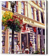 Sara In Old Town Acrylic Print