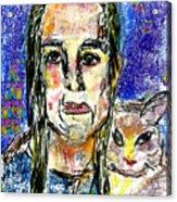 Sarah and Shai Acrylic Print