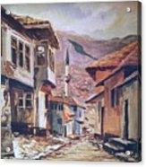 Sarajevo Old Town Acrylic Print
