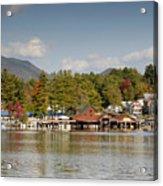 Saranac Lake Acrylic Print