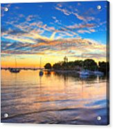 Sarasota Bay Acrylic Print by Jenny Ellen Photography