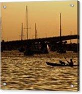 Sarasota Bay Sunset #1 Acrylic Print