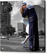 Sarasota Kiss Acrylic Print