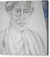 Sarat Chandra Chattopadhyay Acrylic Print