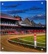 Saratoga Race Track Acrylic Print by Don Nieman