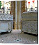 Sarcophagi At Dante's Tomb Acrylic Print