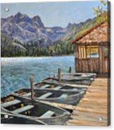 Sardine Lake Acrylic Print