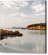 Sardinian Coast I Acrylic Print