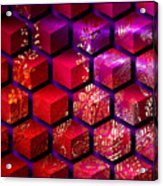 Sari Cubed Acrylic Print