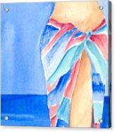Sarong Acrylic Print