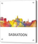 Saskatoon Sask.skyline Acrylic Print