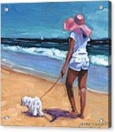 Sassy Jr Acrylic Print by Laura Lee Zanghetti