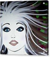 Sassy Sapphire Acrylic Print