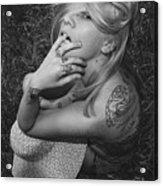 Satanic- Godess Acrylic Print
