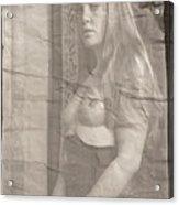 Satie Seeking Antique Style Acrylic Print
