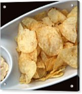 Satisfy The Craving With Chips And Dip Acrylic Print