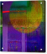 Saturn Lavender Acrylic Print