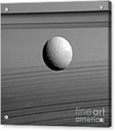 Saturns Moon, Tethys Acrylic Print