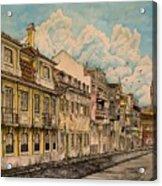 Saudade/ The Swallows Of Lisbon Acrylic Print