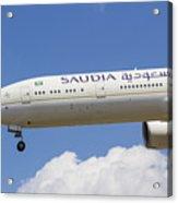 Saudi Arabian Airlines Boeing 777 Acrylic Print