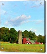 Sauer Farm, Mt. Marion Acrylic Print