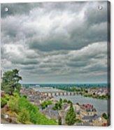 Saumur, Chateau, Loire, France Acrylic Print