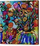 Sauvie Island Flowers Acrylic Print