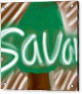 Savana Acrylic Print