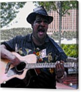 Savanna Blues Man Acrylic Print