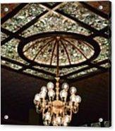 Savannah Antique Ceiling Acrylic Print
