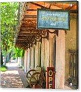 Savannah Antique Shop Acrylic Print