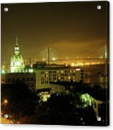 Savannah At Night Acrylic Print