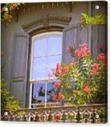 Savannah Balconies II Acrylic Print