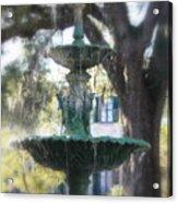 Savannah Green Acrylic Print