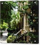 Savannah Historic District  Acrylic Print