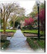 Savannah Park. Acrylic Print