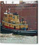 Savannah River Tug Acrylic Print