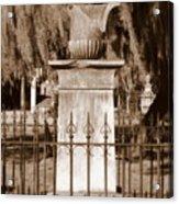 Savannah Sepia - Broken Acrylic Print