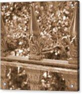 Savannah Sepia - Finials Acrylic Print