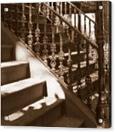 Savannah Sepia - Stairs Acrylic Print