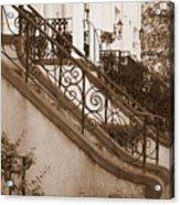 Savannah Sepia - Stoops Acrylic Print