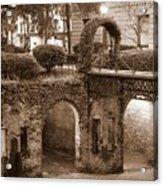 Savannah Sepia - River Walk Acrylic Print