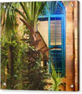 Savannah Window Acrylic Print