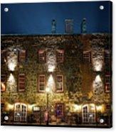 Savannah's Historic River Street Acrylic Print