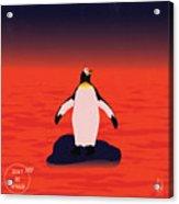 Save Penguin Acrylic Print